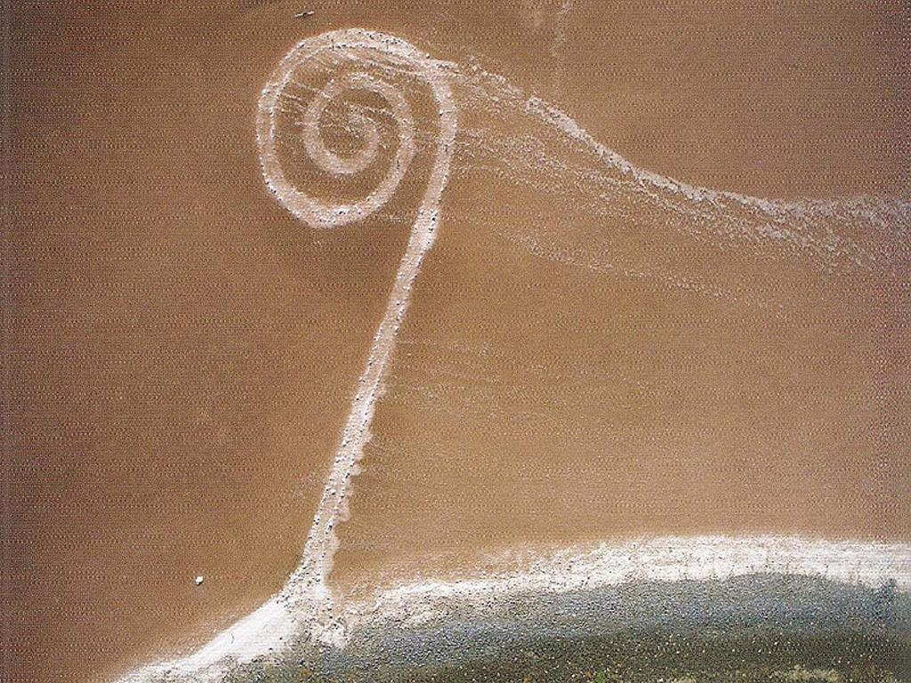 Spralen in zee